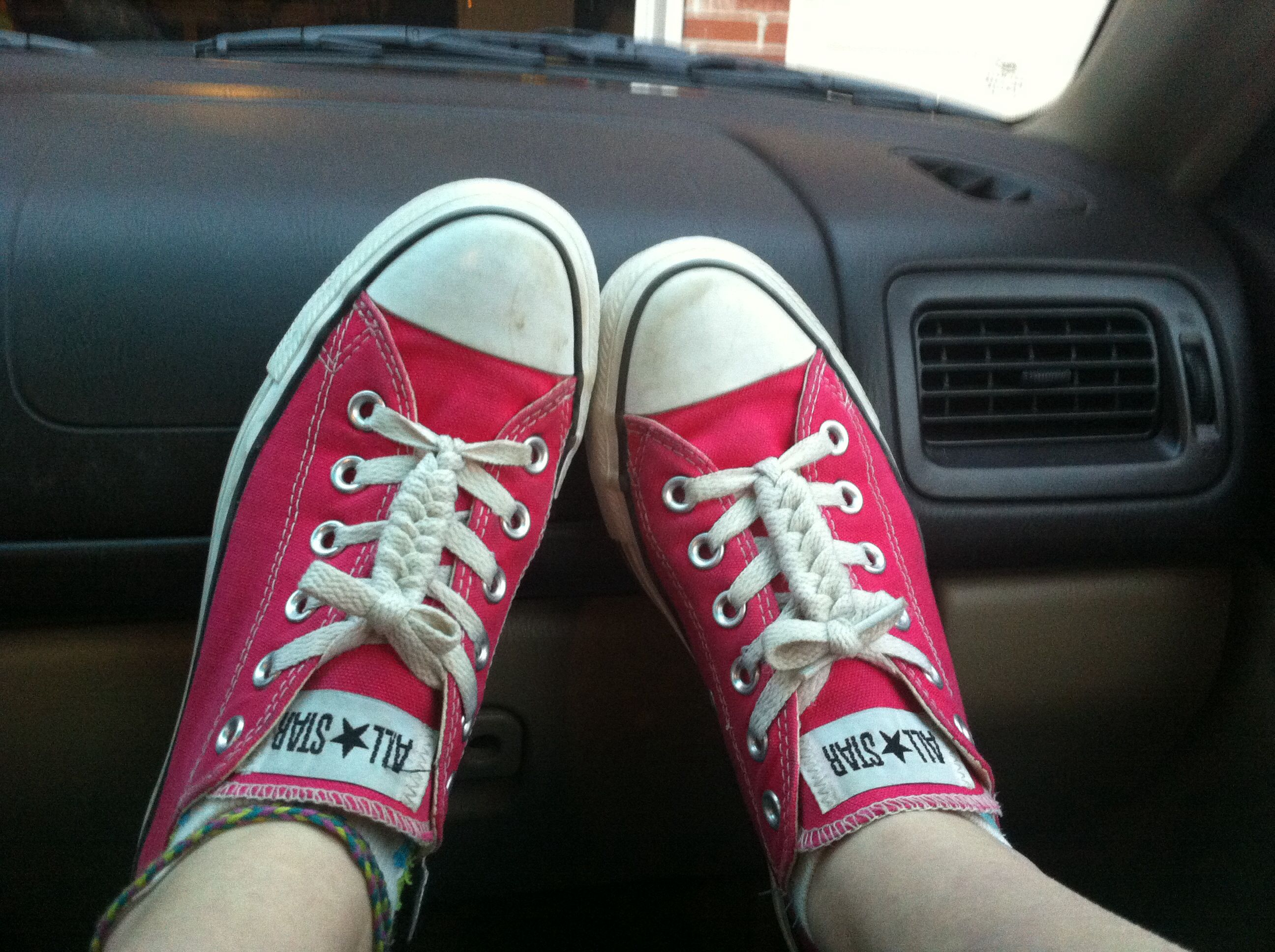 how long are converse shoelaces