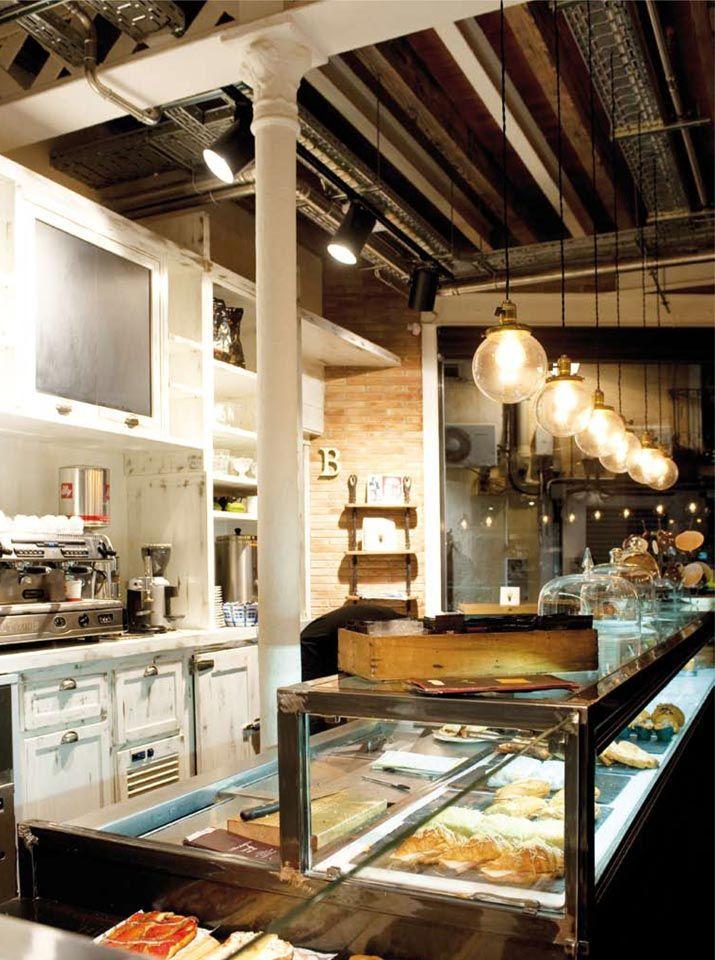 Pin De Belen Mejia En Decor Shops Hotels Bars Interior De Panadería Diseño Del Restaurante Panaderías