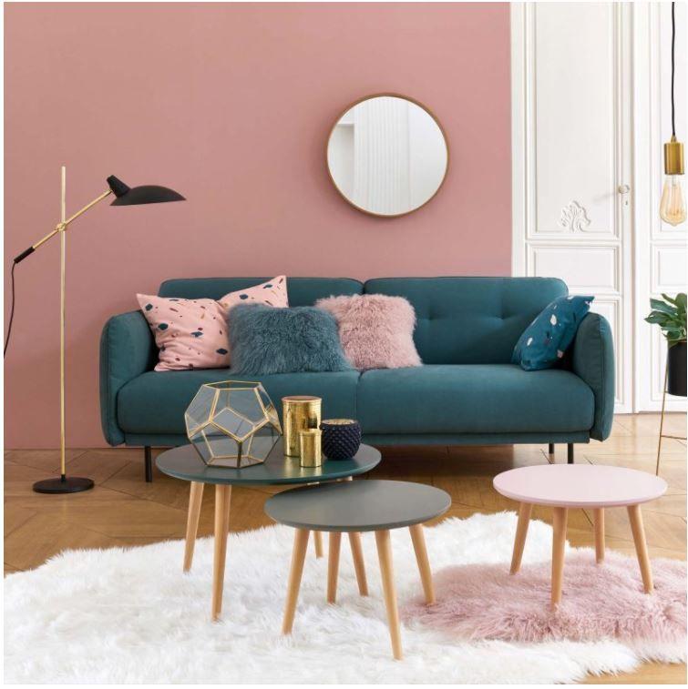 La redoute intérieurs salon urban serenity canapé scandinave table basse et décoration style scandinave revisité pour la décoration dintérieur