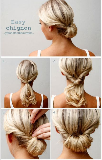 Stunningly Simple Updos Do It Yourself Decor #decor #simple #stunningly #updos #