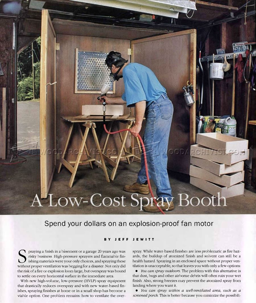 Make Spray Booth Spray booth, Spray paint booth, Paint booth