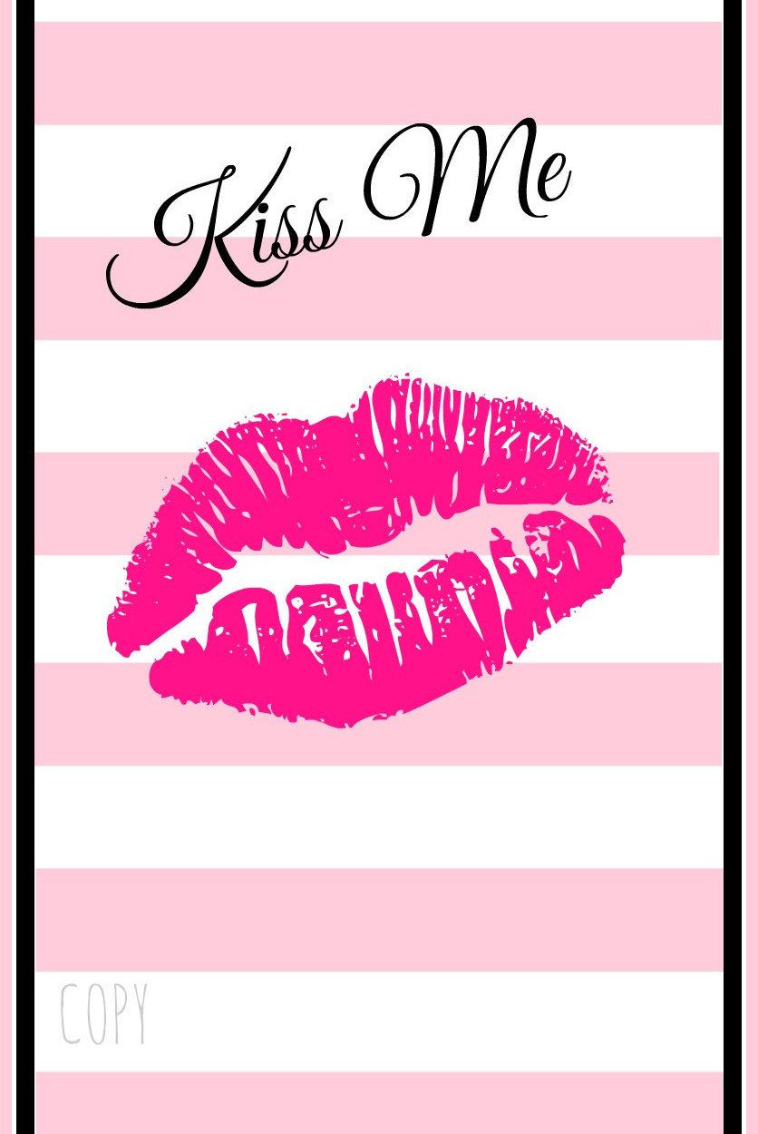 Kiss Me Iphone 6 Wallpaper By Pinkladybella On Etsy Iphone 6
