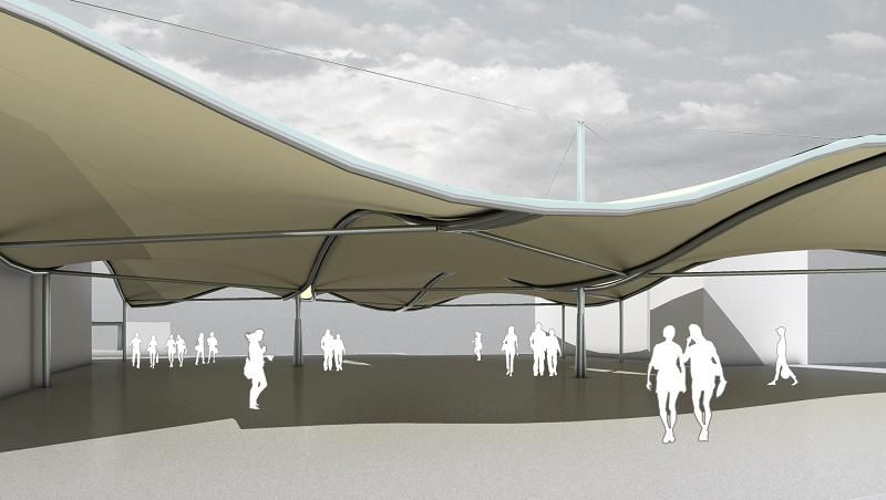 We Have Been Designing Manufacturing And Installing Quality Tensile Fabric  Structures Canopies Commercial