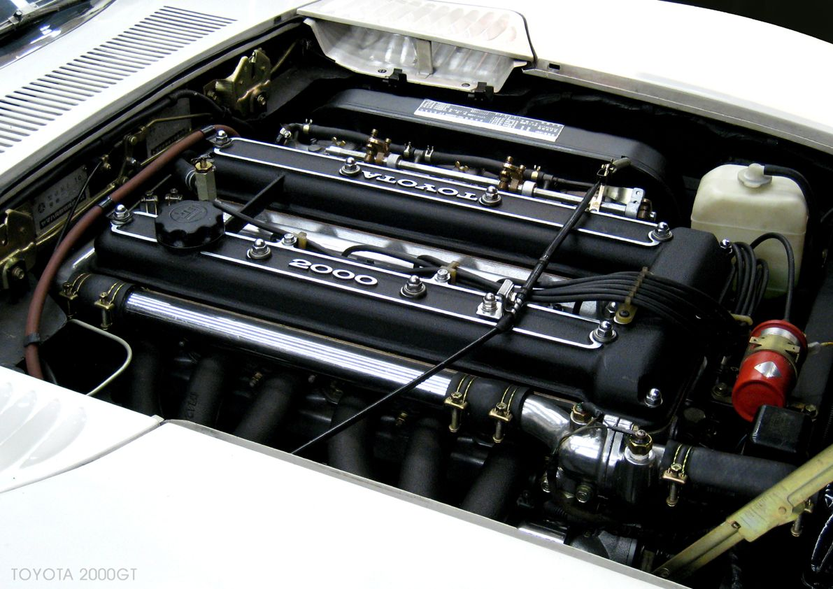 Toyota 2000GT : Engine #1