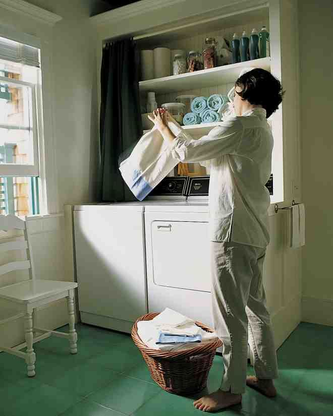 Whether your laundry room is a tiny