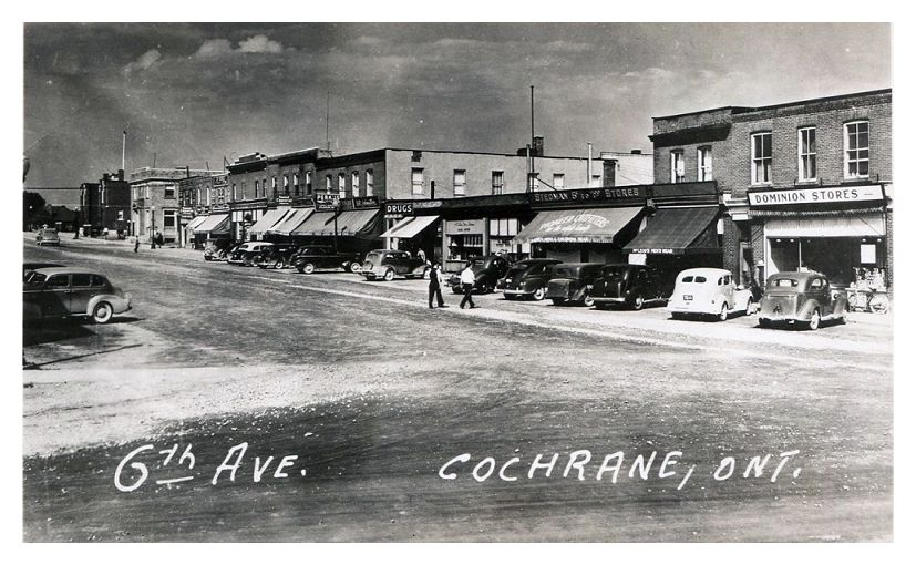 cochrane  ontario c1930