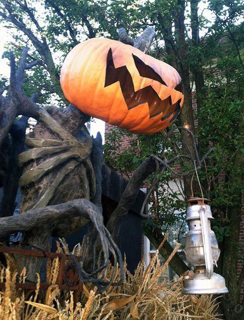 Pumpkin reaper at Horseman's Hollow Haunt Sleepy Hollow New York ...