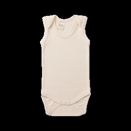 Organic Cotton Singlet Bodysuit | Nature Baby