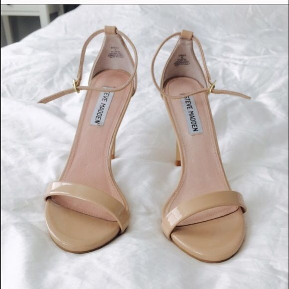 Steve Madden, nude heel. size 6; better fit 5.5 | Them, Sexy and ...