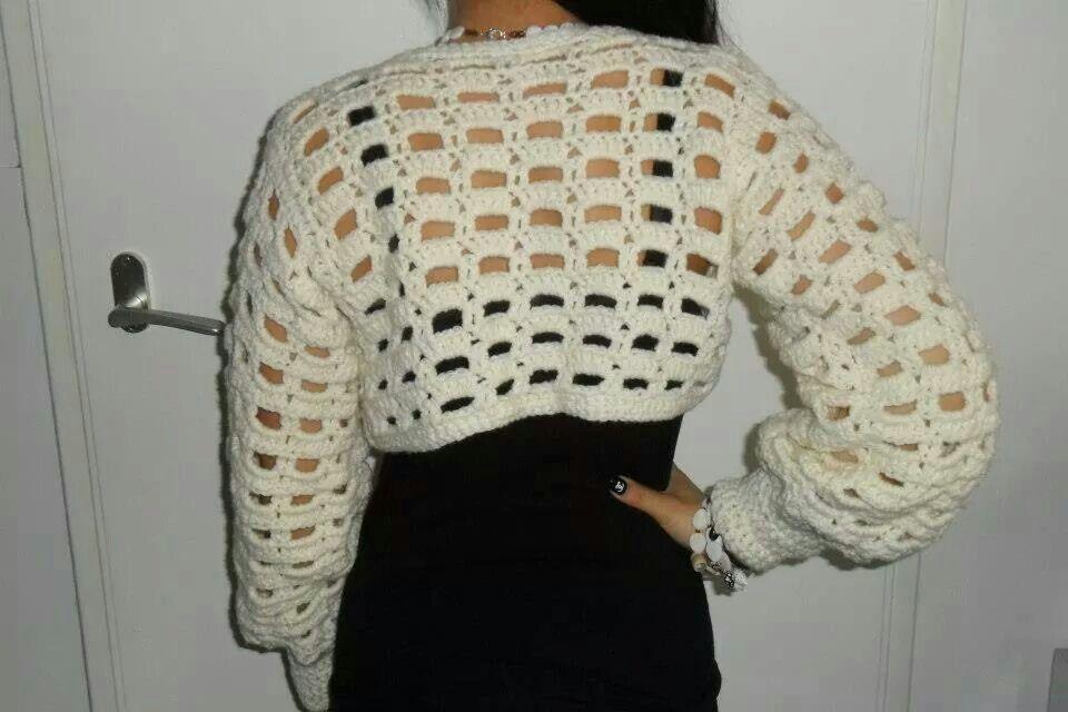 Crochet wrapvest
