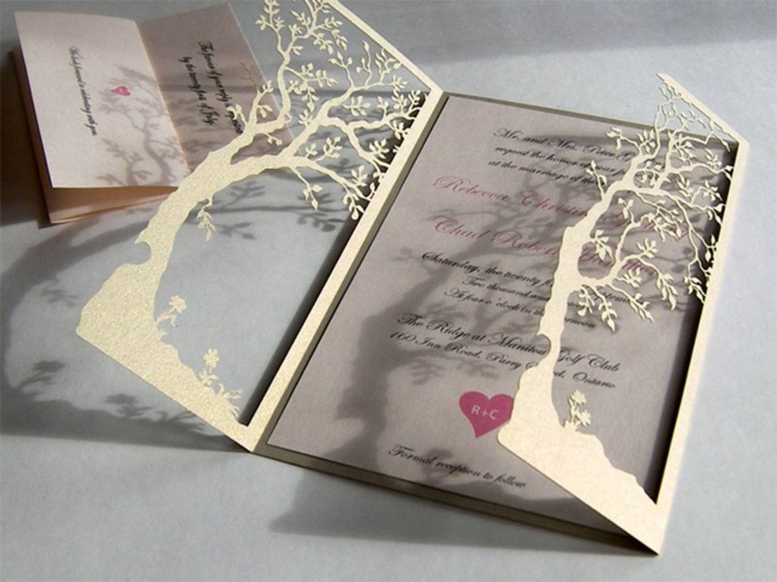 Einladungskarten Hochzeit Selber Machen Ledeclairage Hochzeit