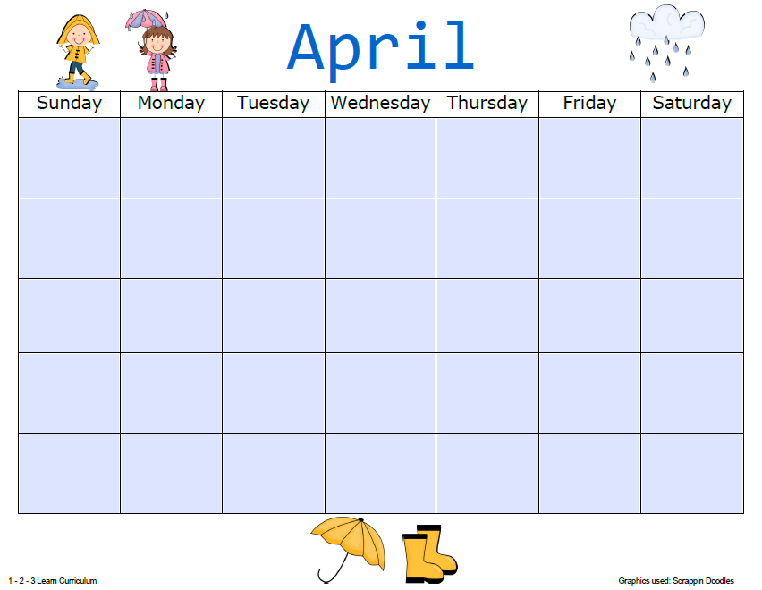 blank calendar template sheets added to 1 - 2