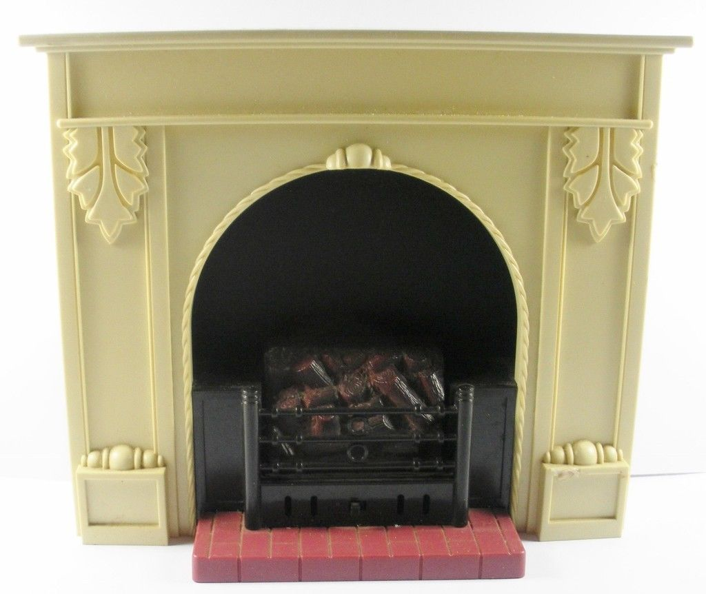 Vintage Sindy Pedegree Fireplace No 44442 002 Dolls House