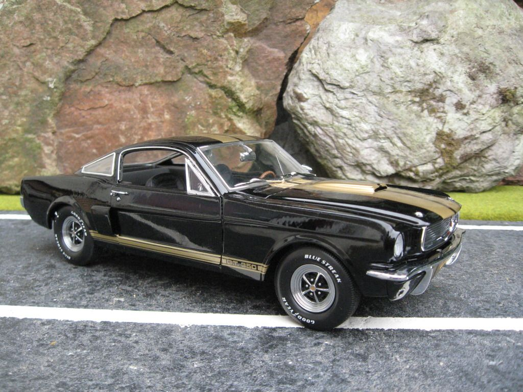 Ford mustang gt390h 1966 black gold cars coches