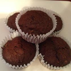 Chocolate Zucchini Muffins Recipe Recipe Chocolate Zucchini Muffins Zucchini Muffins Food