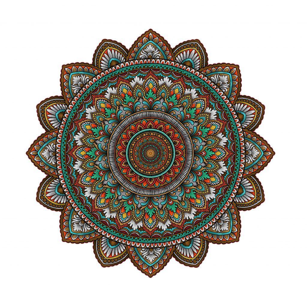 How To Make Ornate Mandala Art With Radial Symmetry Mandala Art Mandala Drawing Mandala Painting