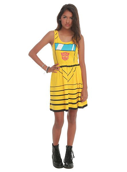 Transformers Her Universe Bumblebee Costume Dress | Hot Topic