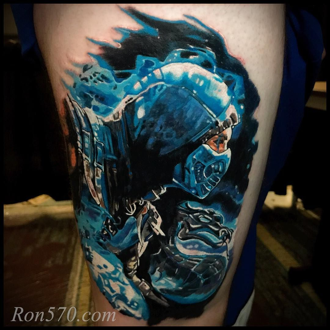 Subzero Tattoo By Ron Russo Tatuagem Ideias De Tatuagens Tatoo