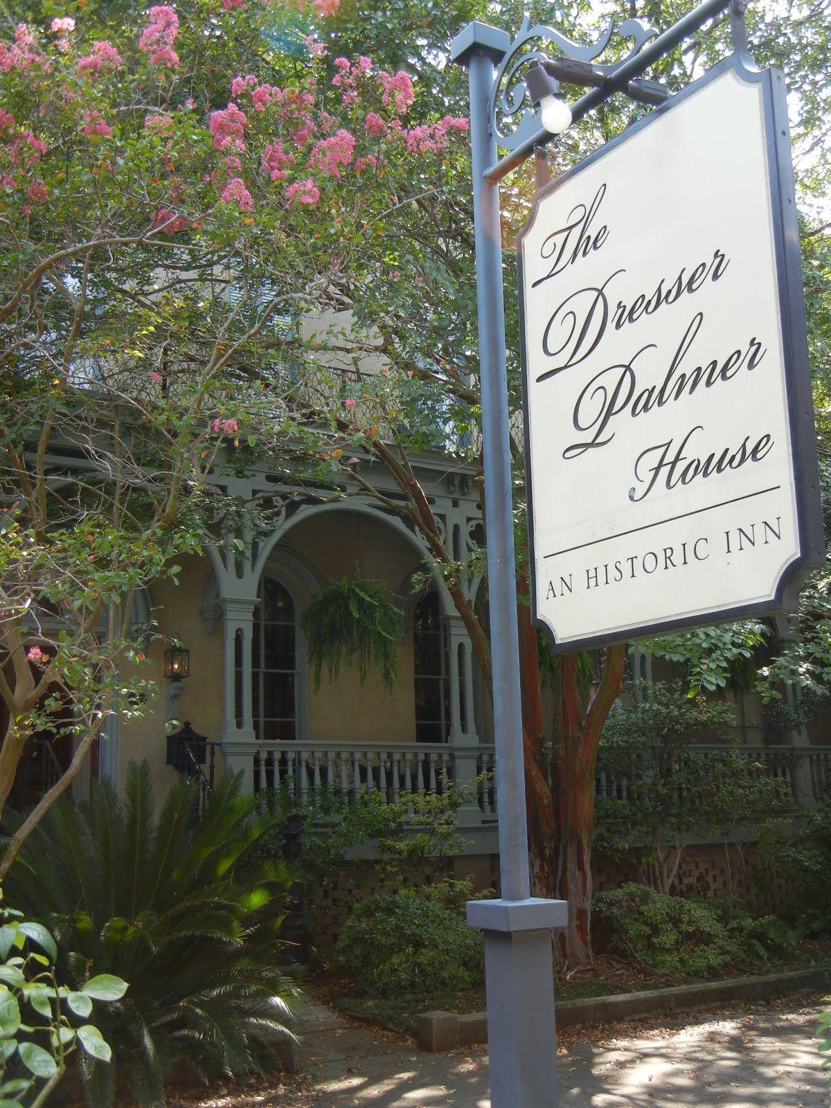 Dresser Palmer House In Savannah Georgia