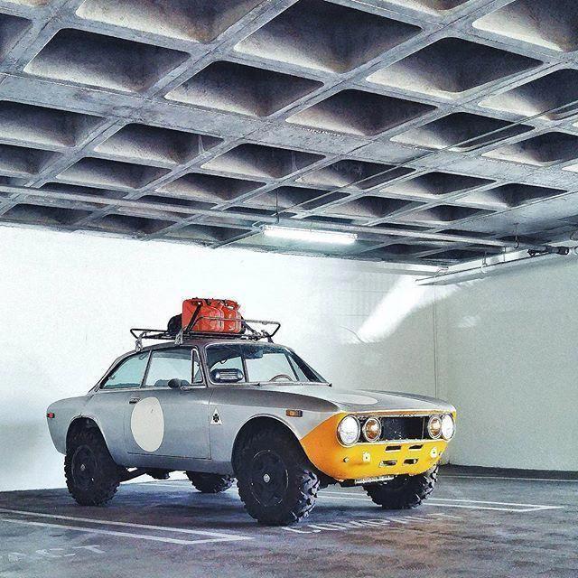 Rally Alfa Romeo -- Now This Looks Like Fun! #alfaromeogta