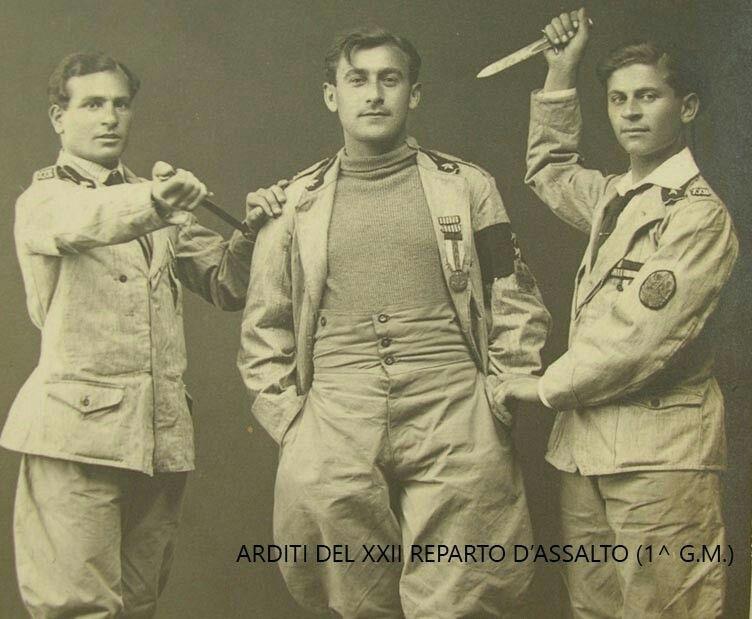 Italian Arditi WWI