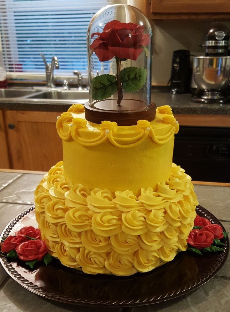 Beauty and the beast cake Cake Pinterest Beast Cake and