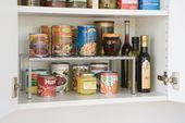 7 Easy Ways to Organize Snack Cabinets and Pantries   7 Easy Ways to Organize Snack Cabinets ... #organizemedicinecabinets