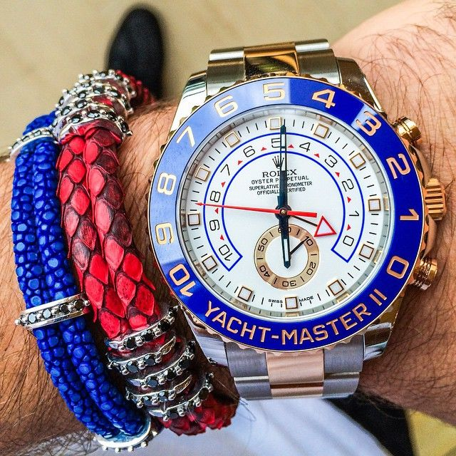 85574ae3ebe Yacht Master meets the  Arm  Party!