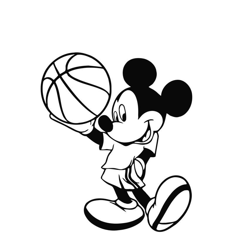 Mickey Mouse Nba Coloring Page Free Coloring Pages Printable Coloring Pages Only Coloring Pages Coloring Pages Bunny Coloring Pages Sports Coloring Pages