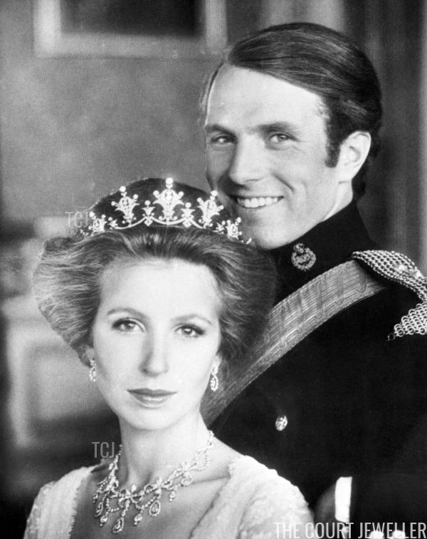 Princess Anne's Diamond Festoon Suite Princess anne