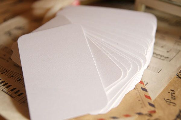 50 pcs blank business cards glossy white round corner business glossy blank business cards white 20 pcs 100 pcs round corner business card colored cardstock c0027 by tinybees on etsy reheart Gallery