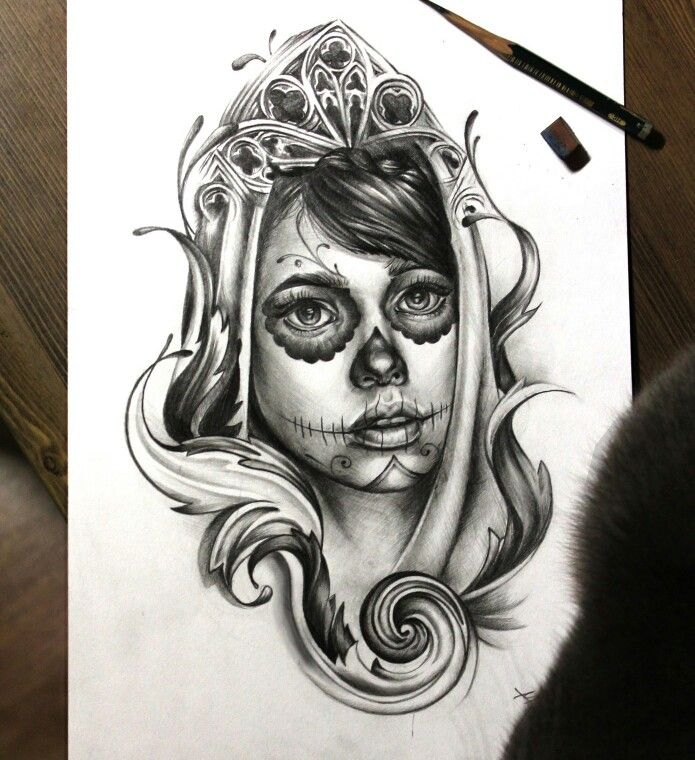 Straight Line Tattoo Artist Uk : Sketch by maria agafonova me pinterest