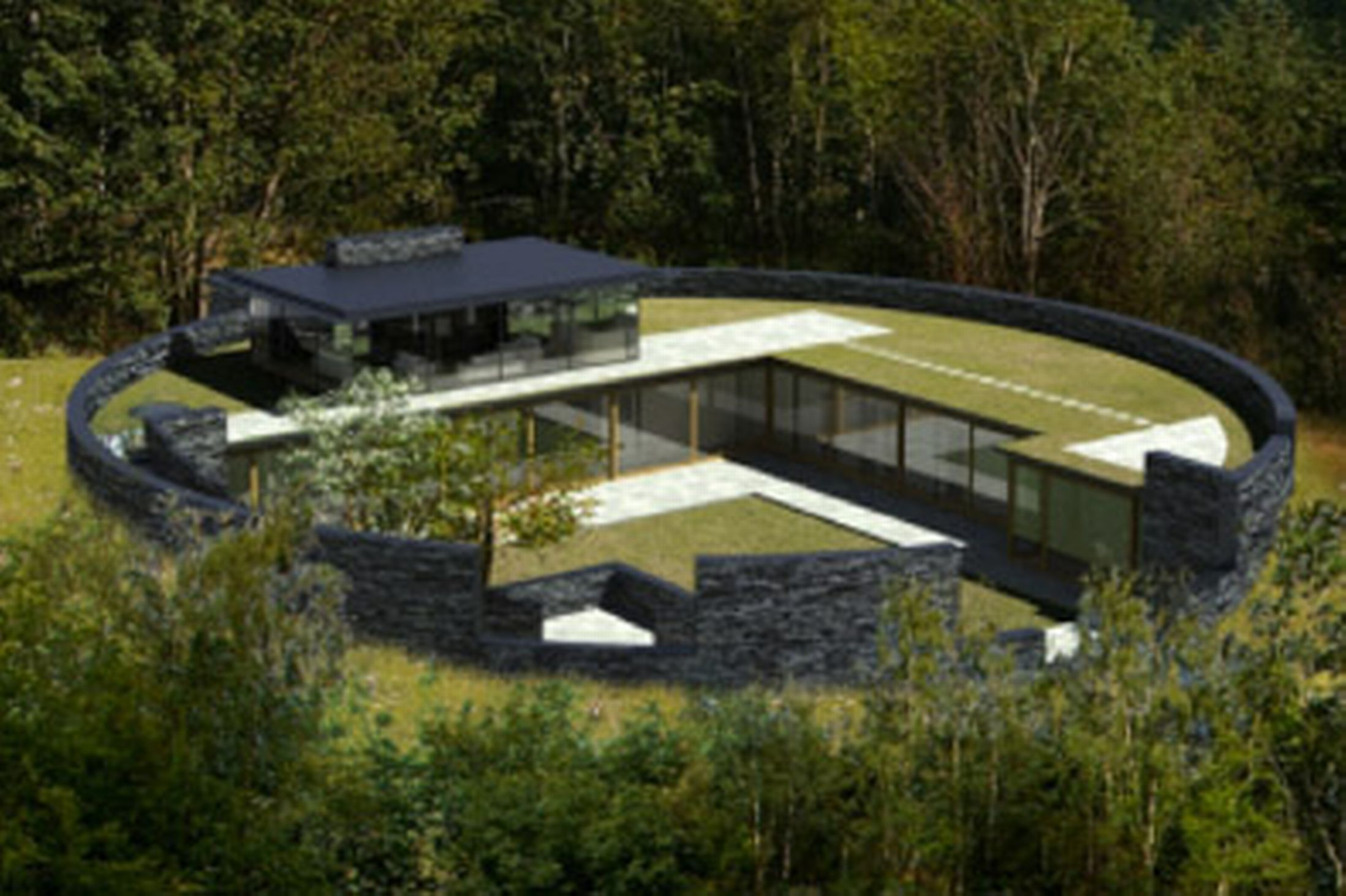 Grand designs host kevin mccloud backs forest home but for Grand design homes