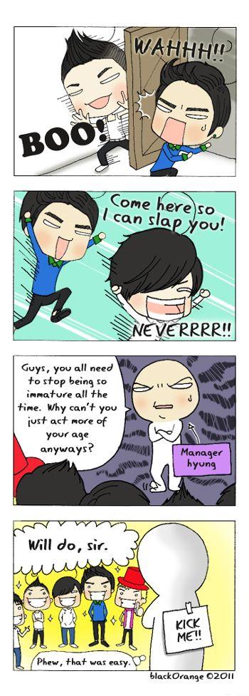 Bigbang Comic 01 Bigbang Seungri Kpop