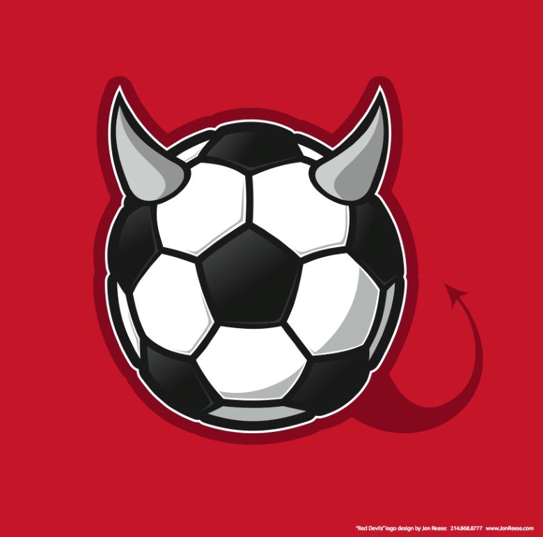 Red Devils Soccer Team Logo Soccer Team Soccer Soccer Tattoos