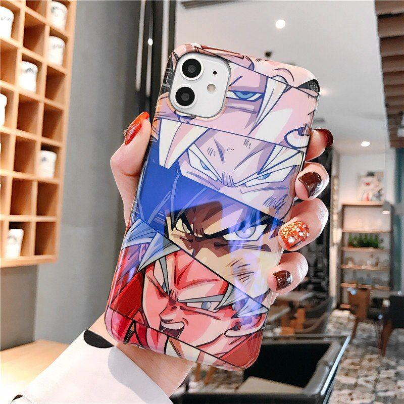 Dragon ball z super son goku phone case for iphone 11 pro