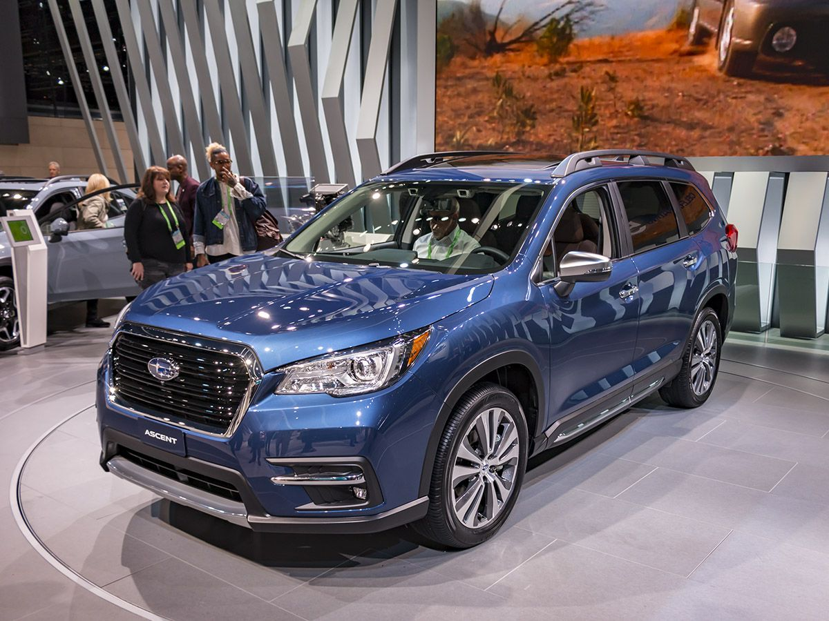 the 2019 subaru ascent is a full fledged midsize suv with the specs rh pinterest com