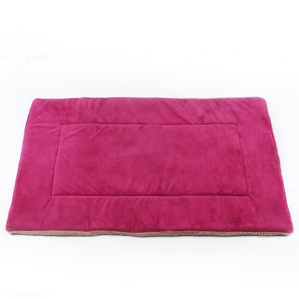 zackx dog bed pad crate mat 36 inch large 42 inch xl micro soft