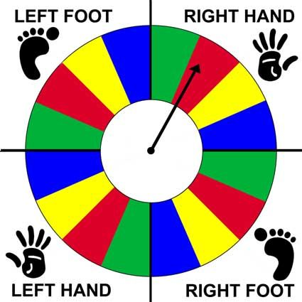 Diy Twister Spinner Google Search Lets Party Twister Game