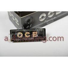 Cod produs: Foite ocb (negru) Disponibilitate: În Stoc Preţ: 1,30RON  Foite ocb premium (negru).Foitele sunt transparente.  Cantitate 50 foite.  Natural arabic gum-Finest Quality.  Foite ultrasubtiri,ardere lenta.