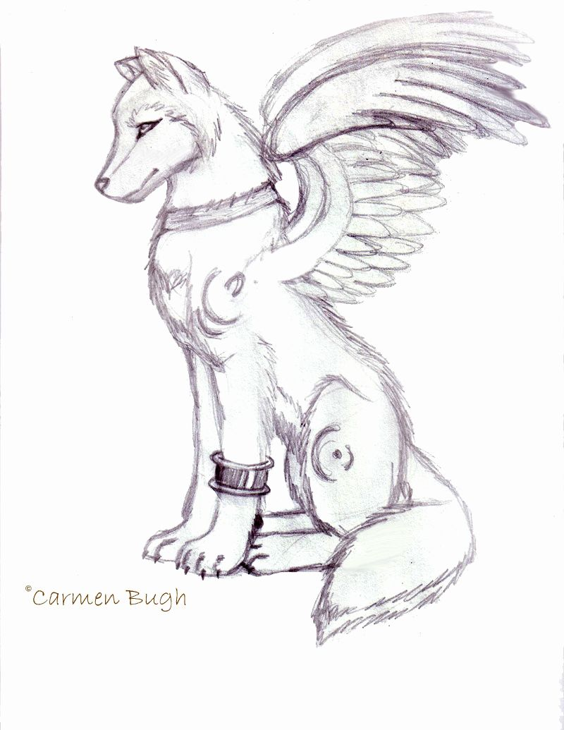 Anime Wolf Coloring Pages Unique Advanced Anime Wolf With Wings Coloring Pages Anime Coloring Anime Wolf Coloring Pages Anime