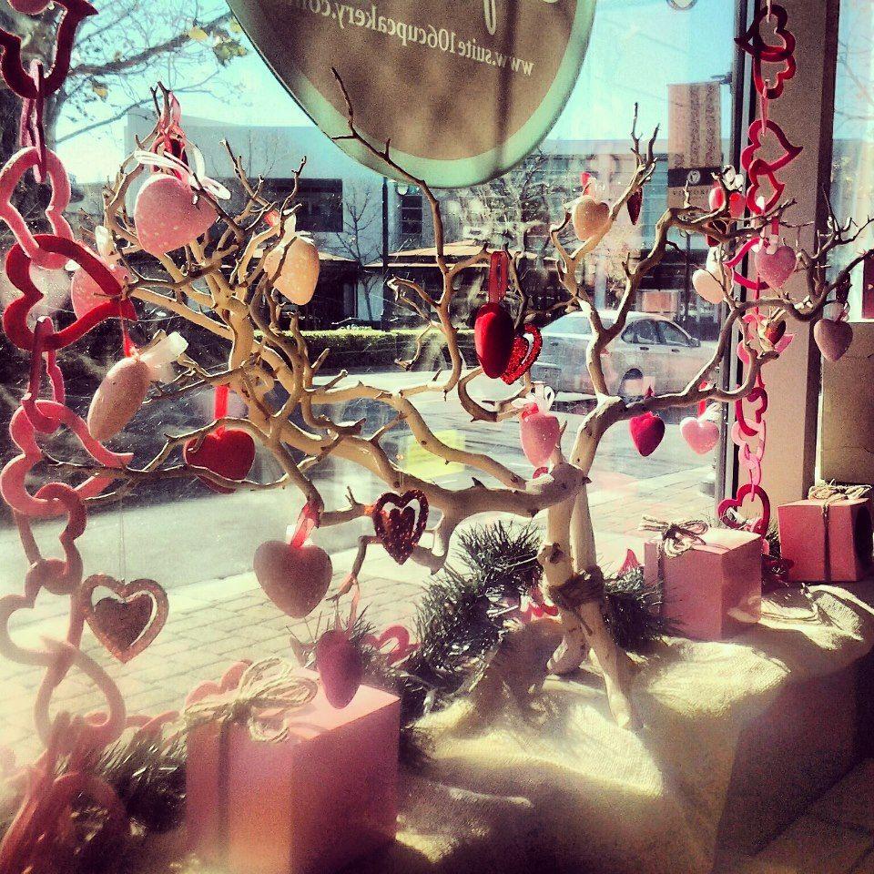 Valentine's Day Store Displays