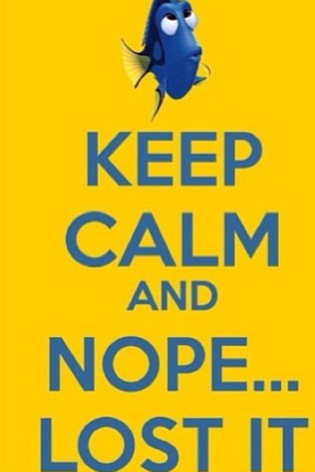 Keep calm dory