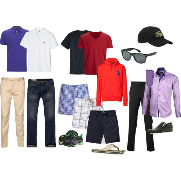 4204dfeea313 Men Vacation Capsule Wardrobe in 2019