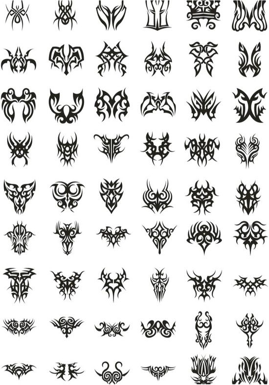 Tribal Tattoo Designs The Body Is A Canvas Tribal Tattoo Designs Tribal Tattoos Tattoo Templates