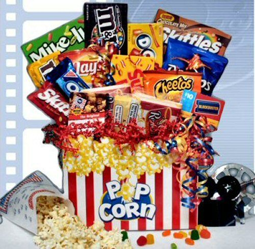 double feature movie gift basket httpmygourmetgiftscomdouble