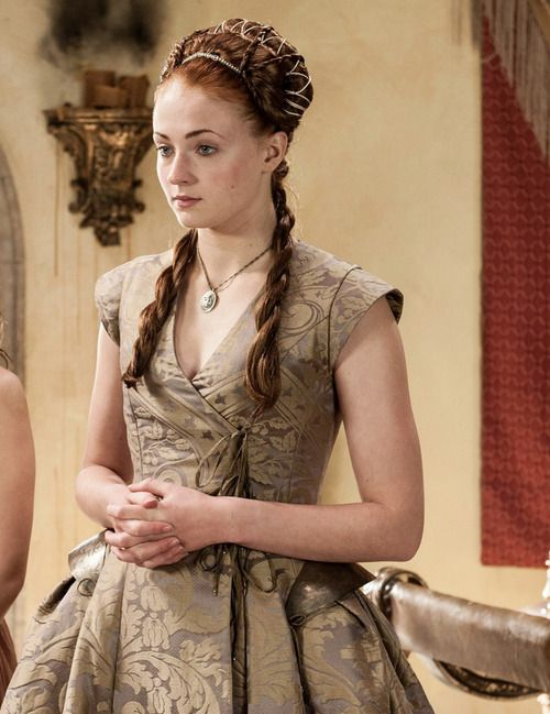 Lady Sansa Stark on her wedding day. Game of Thrones