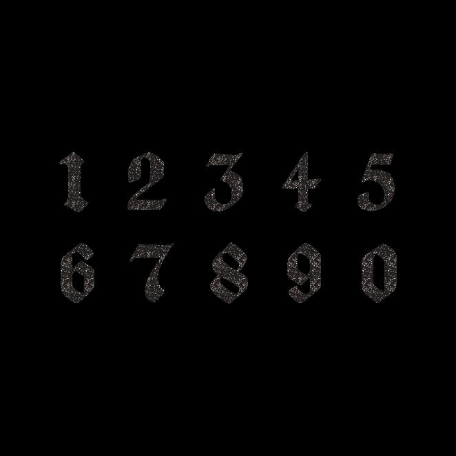 商用可 おしゃれ で かっこいい 数字 のシンプル スタンプ 白黒 の無料イラスト素材になります シンプルながらも印象的な 数字のフォントスタンプです デザインなどにお役立て下さい Adsbygoogle Window Adsbygo タトゥー レタリング フォント