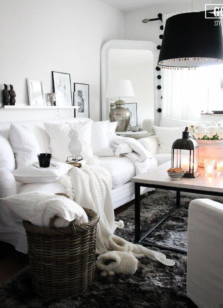 green canoe style jesień 2014 3 in 2020 black sofa on beautiful modern black white living room inspired id=55190