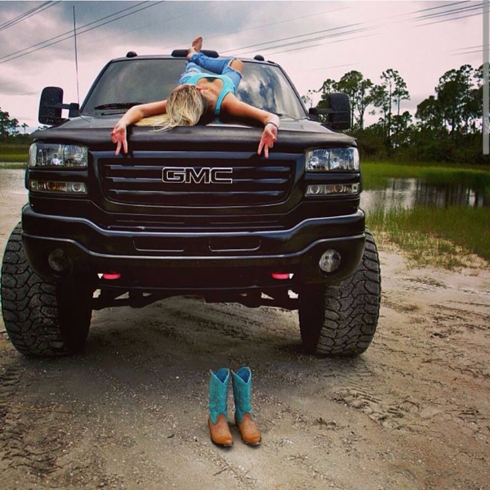 And nude trucks girls lifted